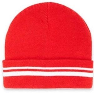 🌺4 for $25🌺 Forever 21 Women's Red Cuff Beanie